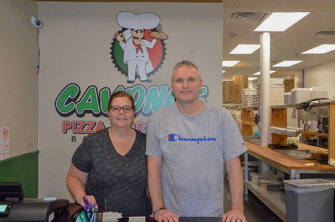 Kelly Mancino-Nosan opened Battle Creek's Cavoni's Pizza and Grinders in June 2018 with her husband, Kevin Nosan.