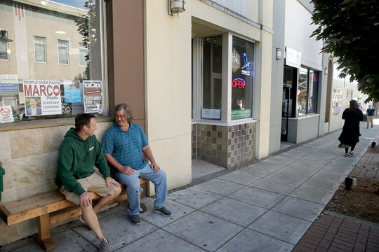 Local Boys Taproom co-owners Trevor Jones, and Bobby Holstein out front of the location. The grand opening for the business on Fourth Street and Pacific in Bremerton is September 14-16.