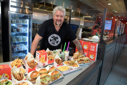Celebrity Dining: Guy Fieri's Chicken Guy! is coming to multiple cities in Tennessee, including downtown Nashville