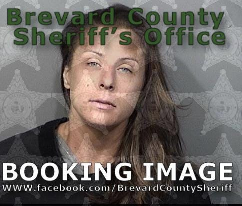 Amanda Engstrom, 32, was arrested for driving under the influence and fleeing and eluding officers.