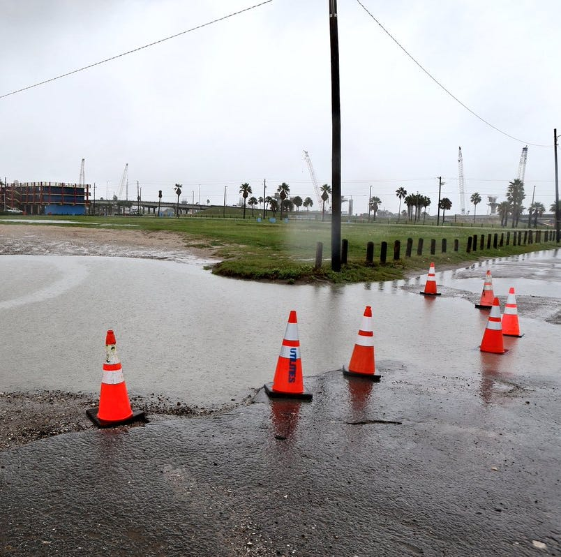Flooding has been reported on these Coastal Bend streets