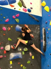 You can climb independently or with an instructor at the new Gravity Vault in Voorhees.