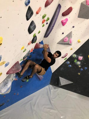 Rocks in a variety of shapes and sizes make courses a challenge at The Gravity Vault in Voorhees, which hosts a grand-opening event on Sept. 15.