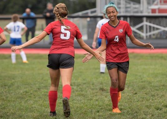 Hs Girls Soccer Westfall Wins 5 1 Over Southeastern
