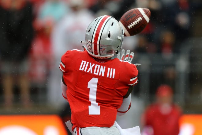 Johnnie Dixon and Ohio State travel to play TCU in Arlington, Texas Saturday at 8 p.m. on ABC.