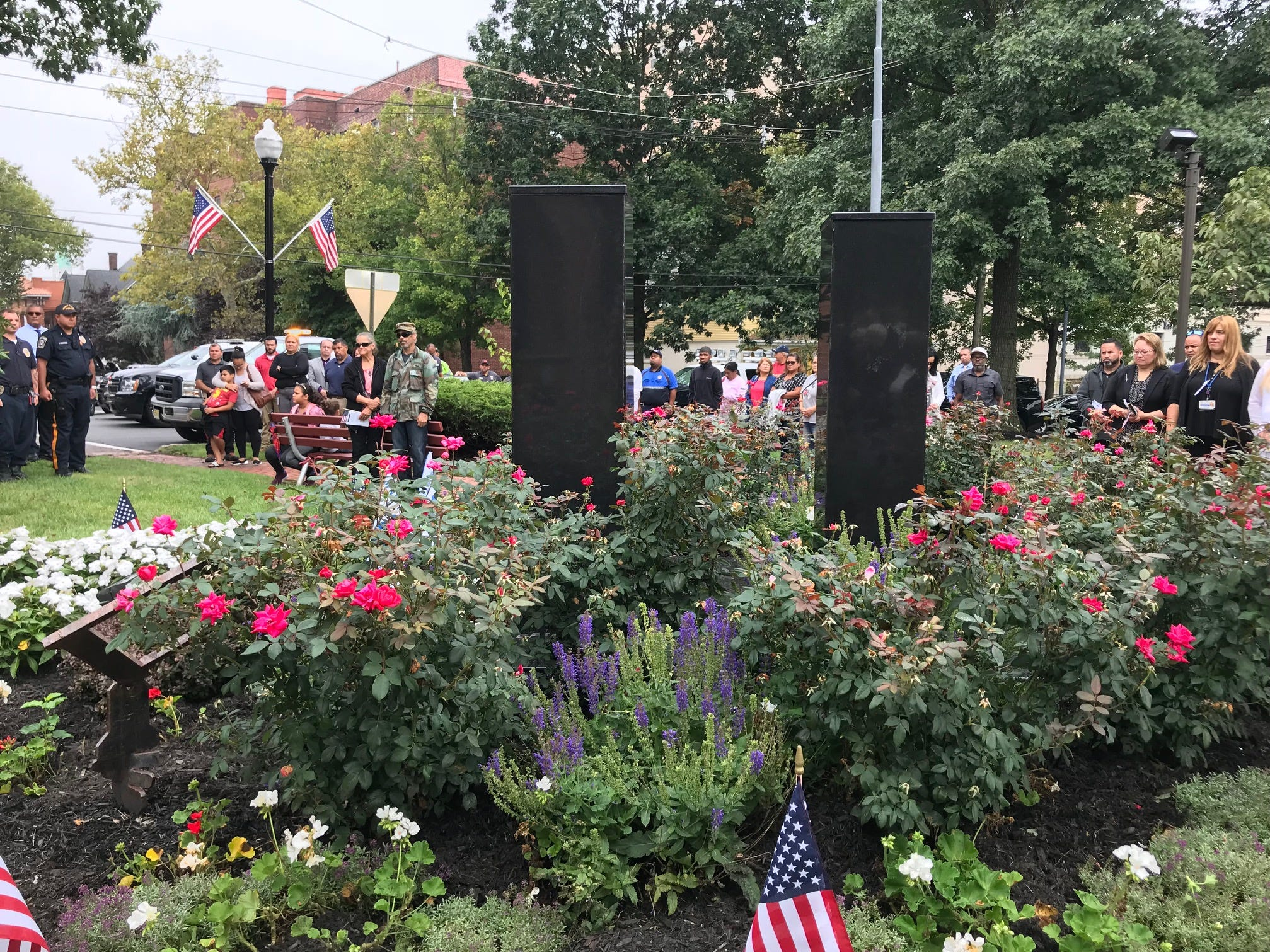 9/11 remembrance in Perth Amboy.