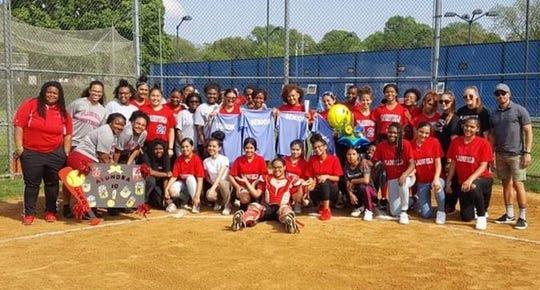 Plainfield softball team Champions!