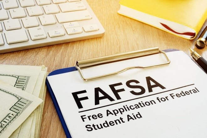 Families can file a FAFSA as early as Oct. 1 using data from their 2017 tax returns.