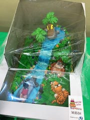 A cake themed after The Jungle Book was part of the Coshocton Business and Professional Women annual cake auction in 2017.