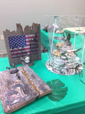 This submission from Hopewell Industries was part of the 2017 Cosohcton Business and Professional Women cake auction.