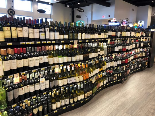 The Fareway Meat Market in Ames offers a large wine selection.