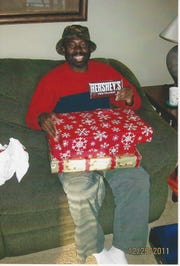 Francis Anwana, 48, of Detroit, on Christmas Day in 2011