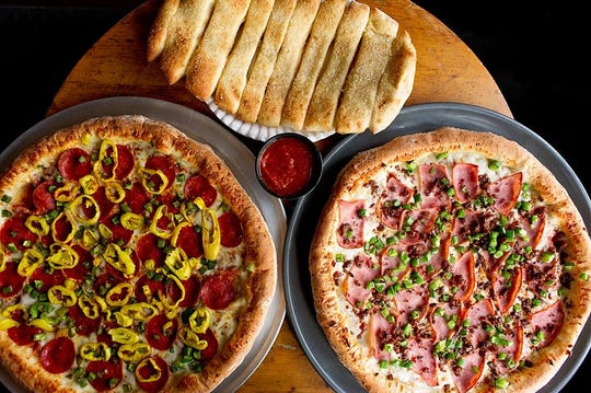 Folks seem to love the specialty pies at Mighty Fine Pizza in Petoskey.