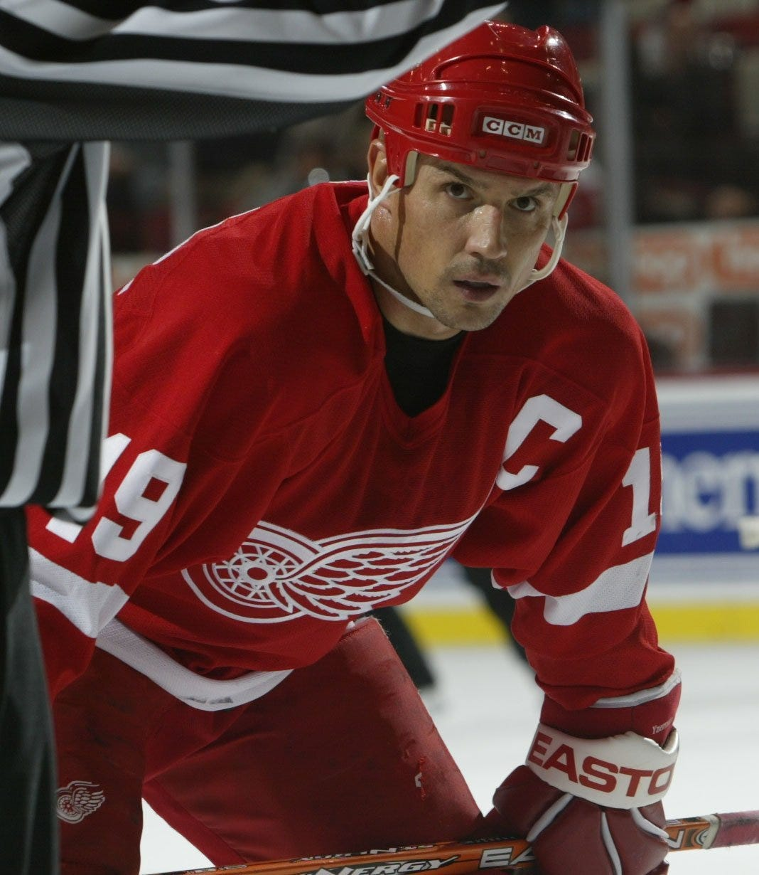Steve Yzerman is a great captain who does the impossible