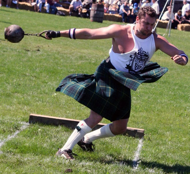 Prepare to watch the almighty U.S.-Canadian Irish Heavy Games Championship this weekend at the Michigan Renaissance Festival.
