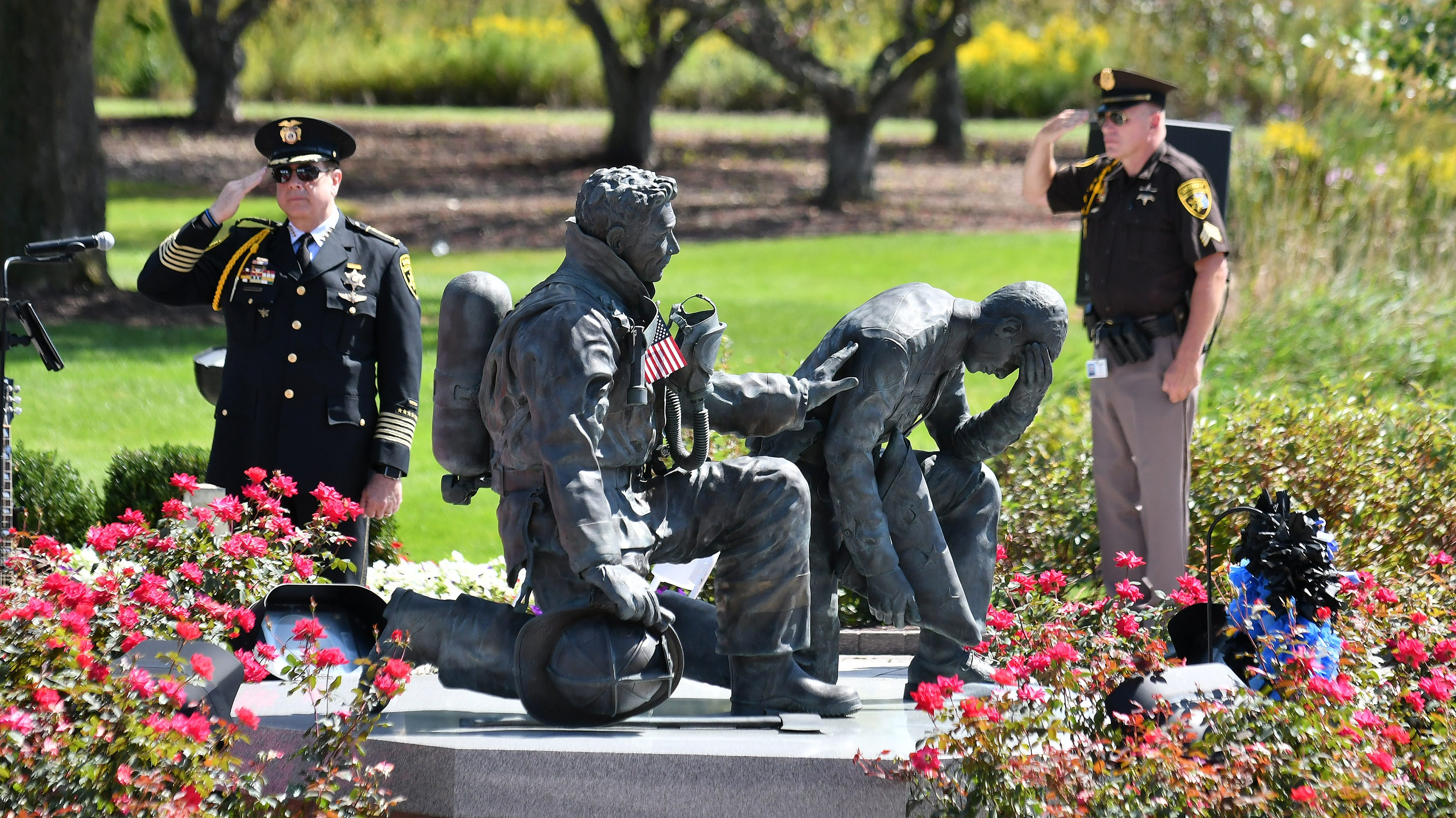 Sept. 11 heroes saluted in Oakland County: 'We should never forget'