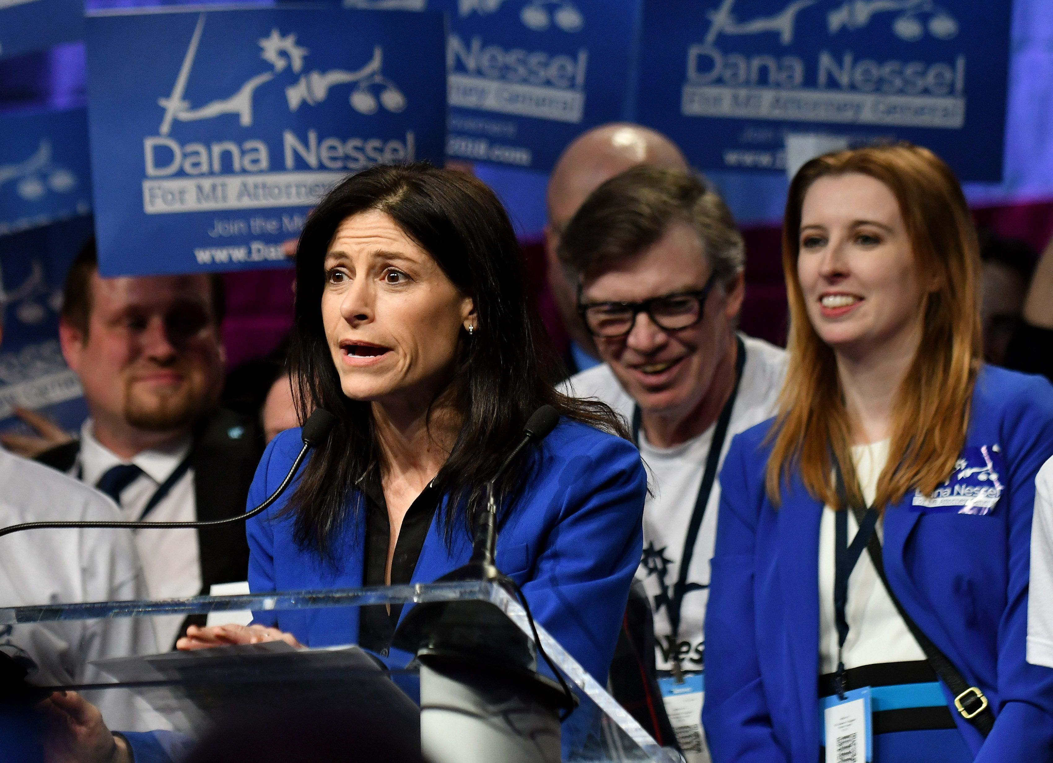 Democratic candidate for state attorney general Dana Nessel is a Plymouth Township attorney best known for her role in overturning the state's same sex marriage ban.