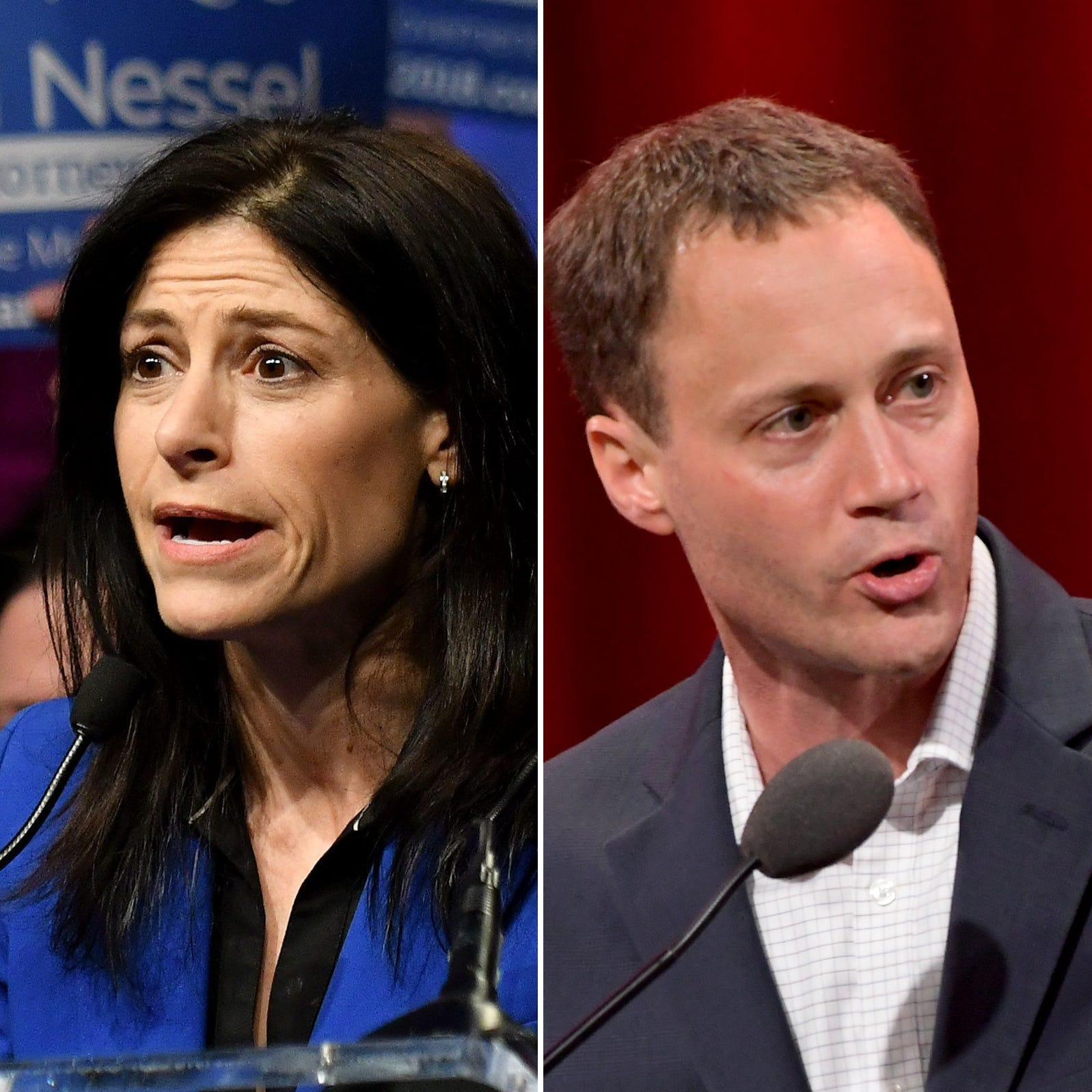 Volatile Michigan attorney general's race shows gulf between Leonard, Nessel