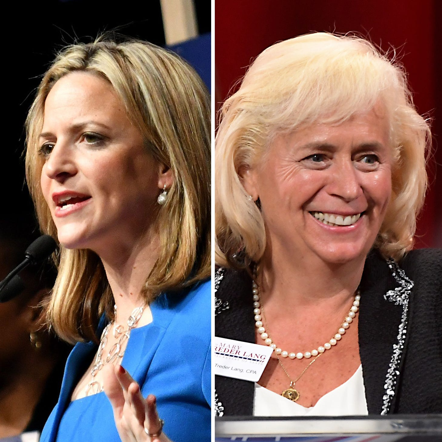 Jocelyn Benson, Mary Treder Lang clash on SOS reforms, voting changes