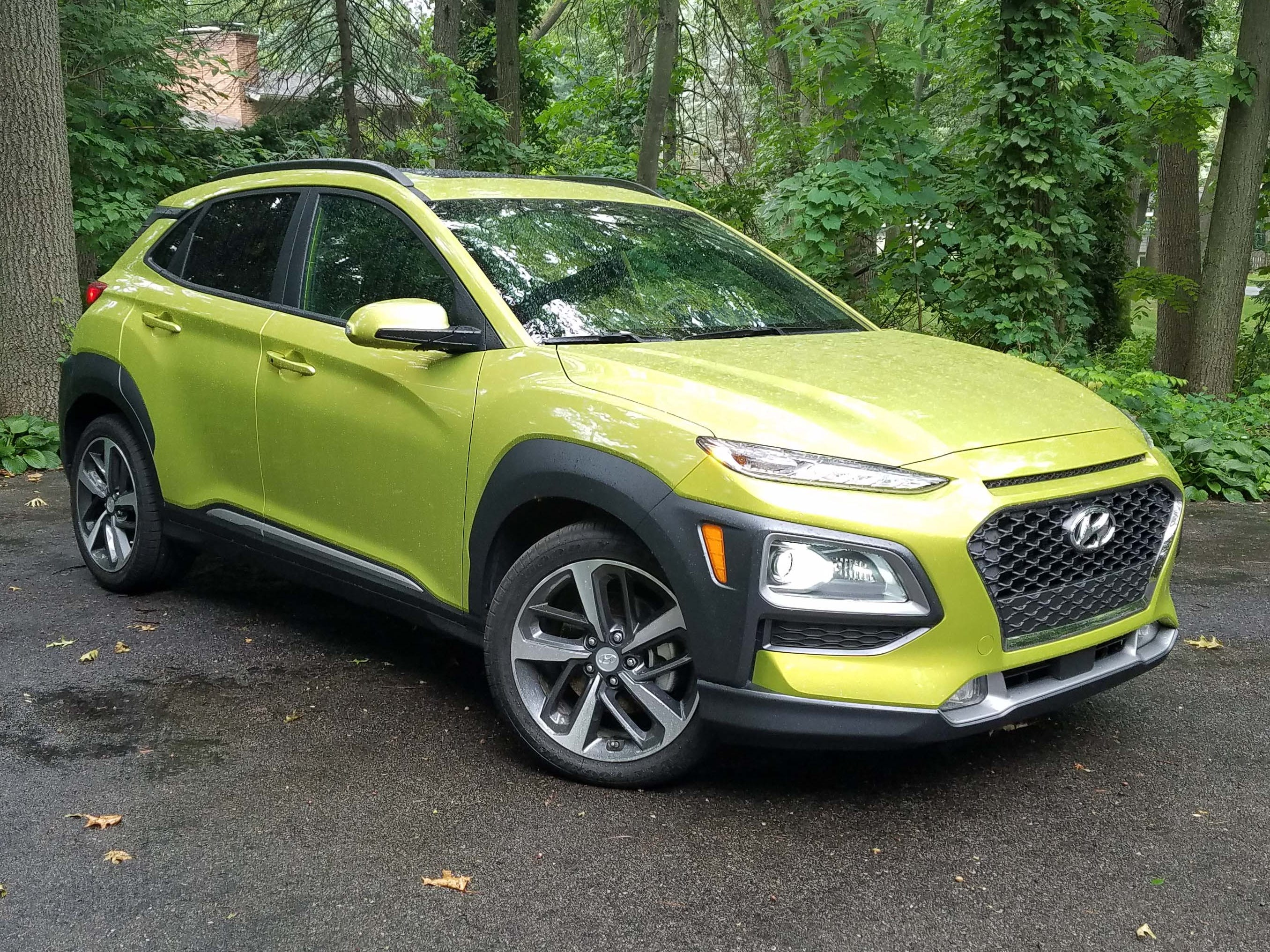 The Utility of the Year is the Hyundai Kona, offered with the same pair of engines that come with the sporty Hyundai Veloster sports coupe: a 143-horse, 2.0-liter 4-banger and a 175-horse, 193-torque, 1.6-liter turbo.