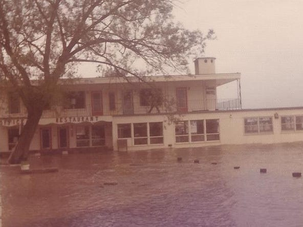 An image of Seneca Lake by the Showboat Motel. The photo was provided by Ronna Best of Binghamton. She was 6, and her sister, Robin, was 3 1/2, when they stayed in the cottages with parents, Ron and Rita Shetler, and grandparents, Foster and Mary Brewer.