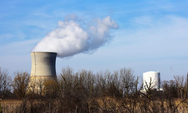 Democratic gubernatorial candidate Rich Cordray and Republican candidate Mike DeWine visited the Davis-Besse Nuclear Power Station last week. FirstEnergy Solutions, owner and operator of the facility, announced in March that the nuclear plant will close in May 2020.