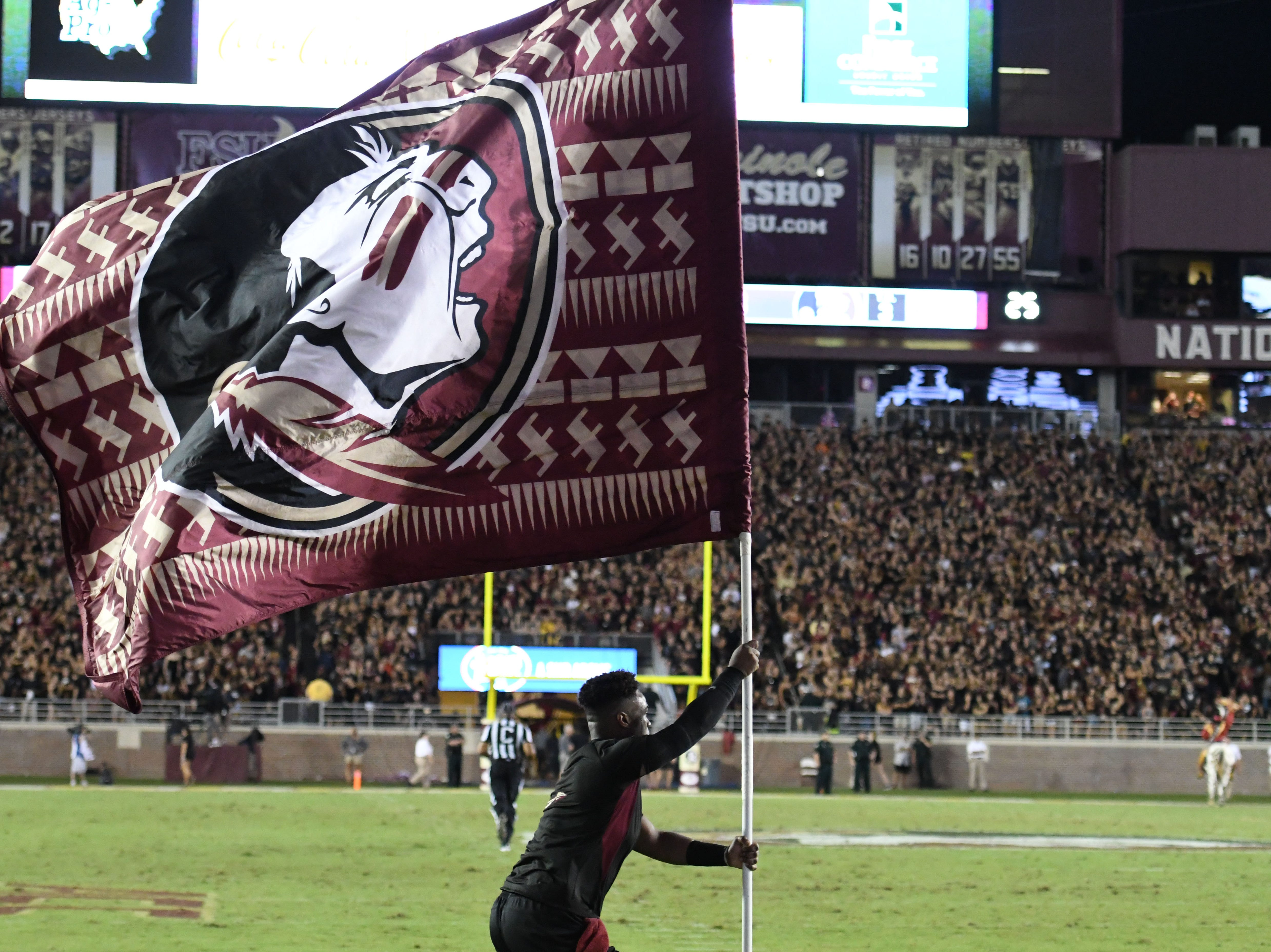 An attendance of 75,237 came to Florida State's first game of the year against Virginia Tech on Monday night.