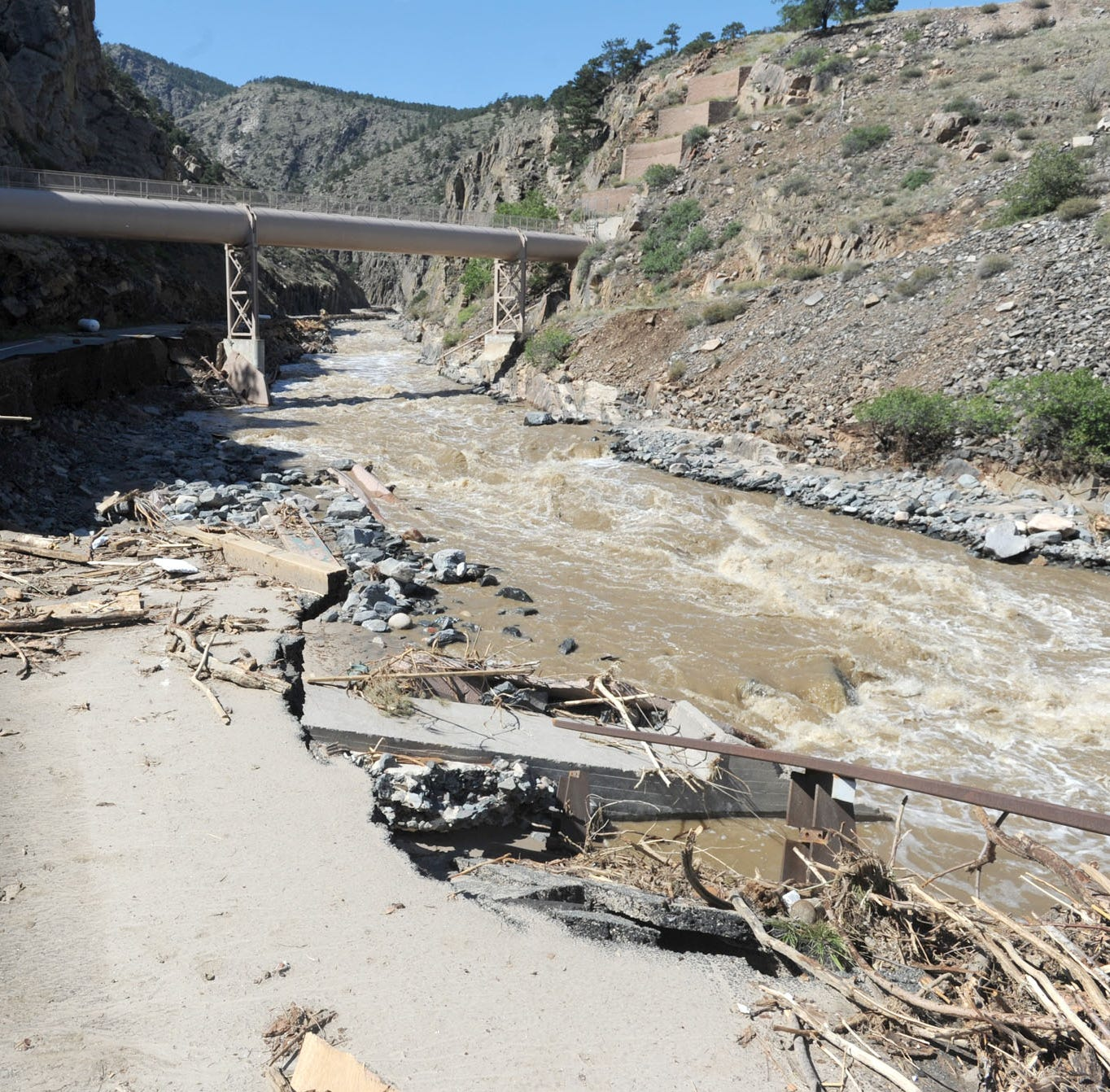 Nearly 6 years after Big Thompson flood, FEMA still hasn't funded road, bridge repairs