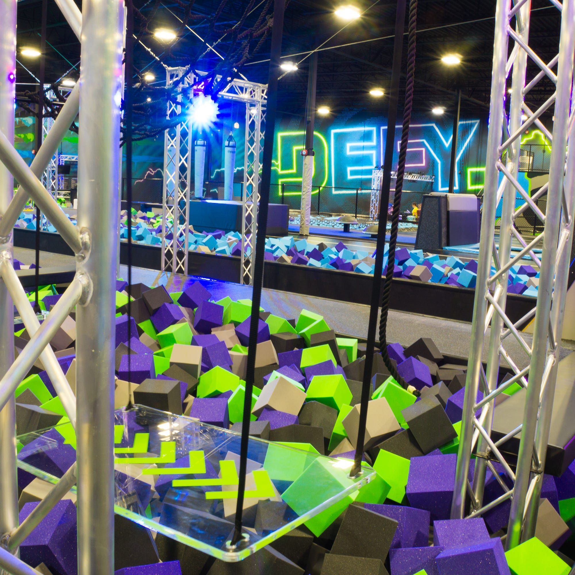 Ninja gym Defy Fort Myers opens at The Forum with Warped Wall, zip line, parkour and more