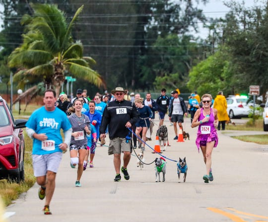 The Cape Coral Animal Shelter has had several fundraising events including the Mutt Strut 5K & 1 Mile Walk.