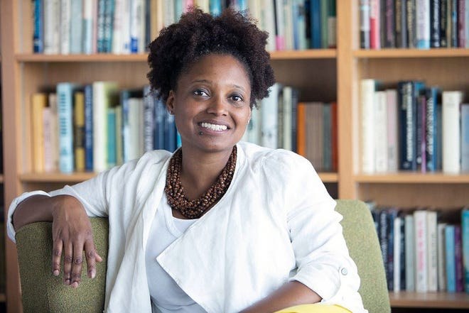 United States poet laureate Tracy K. Smith gives a reading of her work Oct. 11 at Southern Door Community Auditorium.