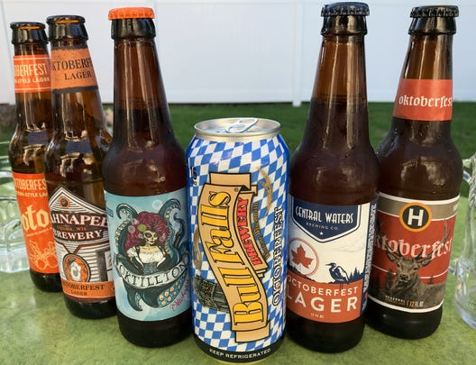 In a blind taste test, these Oktoberfest beers from Wisconsin breweries made my final pick six.