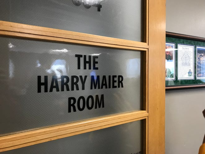 The City of Green Bay dedicated the Harry Maier Room in honor the late former longtime Redevelopment Authority chairman.
