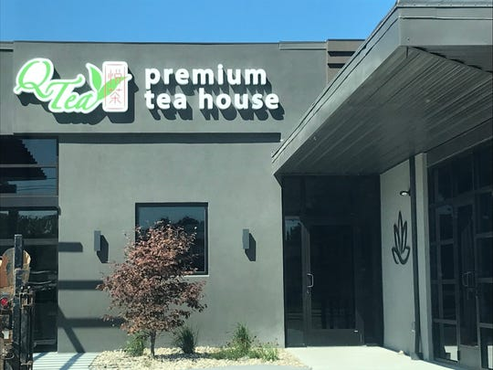 Q-Tea Premium Tea House and The Sense Spa & Wellness Center plan to open in the 100 block of South Military Avenue.