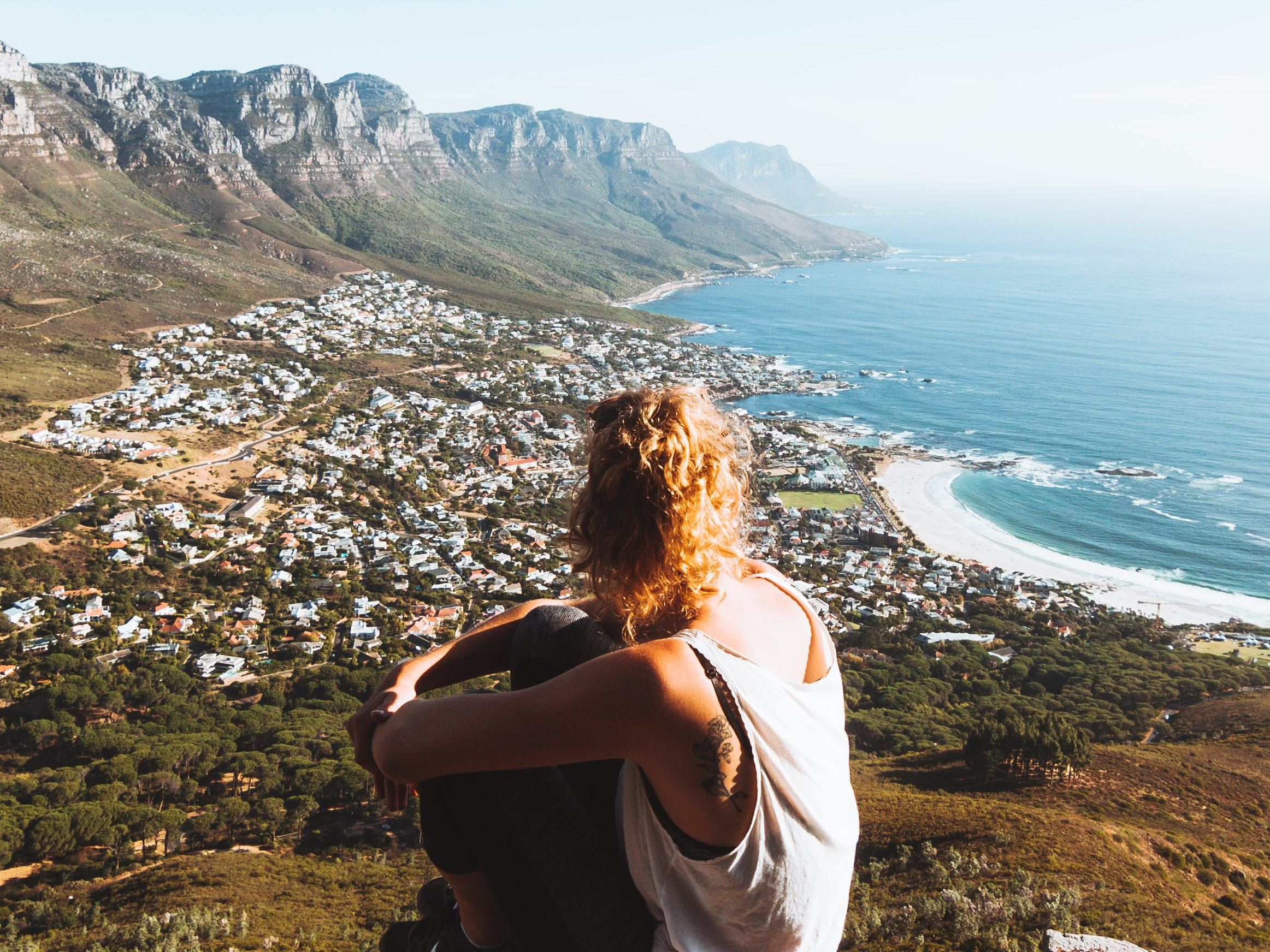 Lishen Ye was able to capture the beauty of Cape Town, South Africa from above.