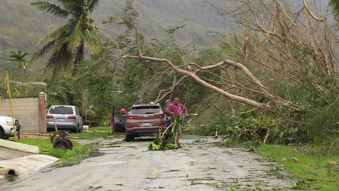 Rota was left battered and flooded after Typhoon Mangkhut hit the island Sept. 10. PresidentDonald Trump has declared a major disaster exists in theCommonwealth of the Northern Mariana Islands and orderedfederalassistance.