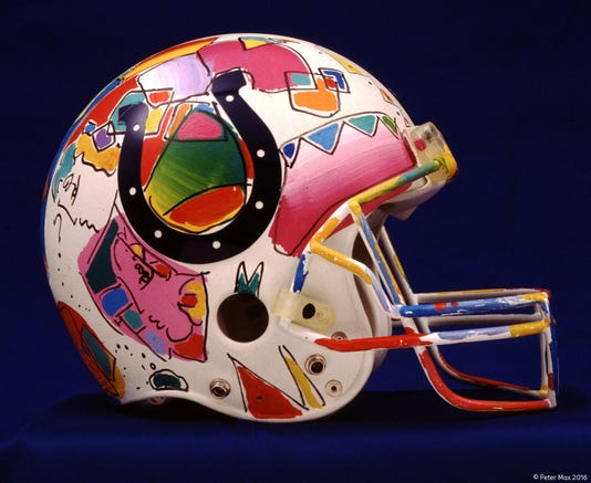 Indian Colts Helmet