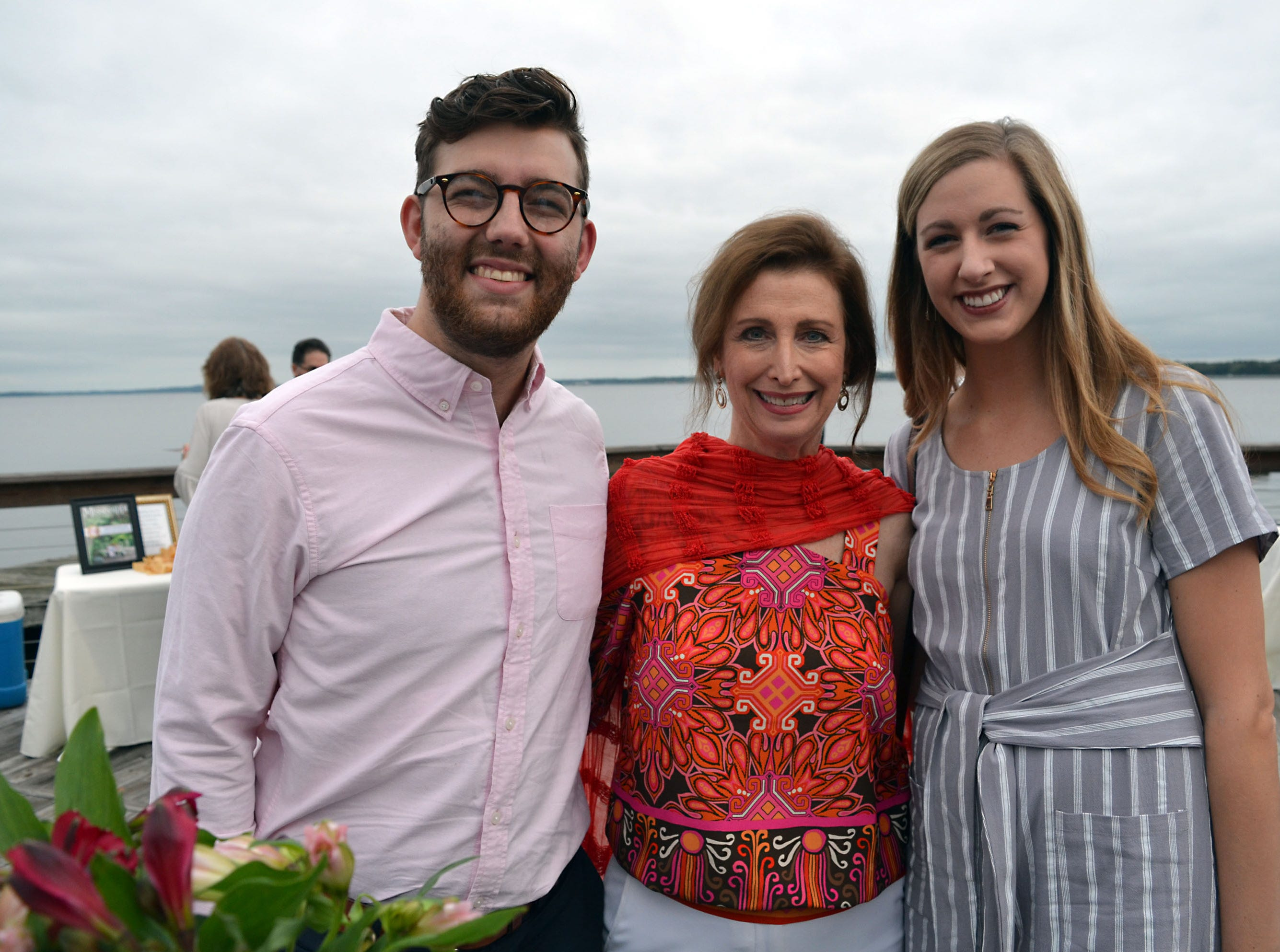 From left, Alex Coats of Jackson, Chris Chapman, of Ridgeland, and Katie DeMetz, of Jackson, were among those that enjoyed the variety of desserts prepared by the South's A-list pastry chefs.