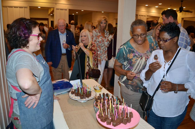 A sold-out crowd turned out for the Sweetest Chefs of the South event held Monday, Sept. 10, at The Lake House in Ridgeland.