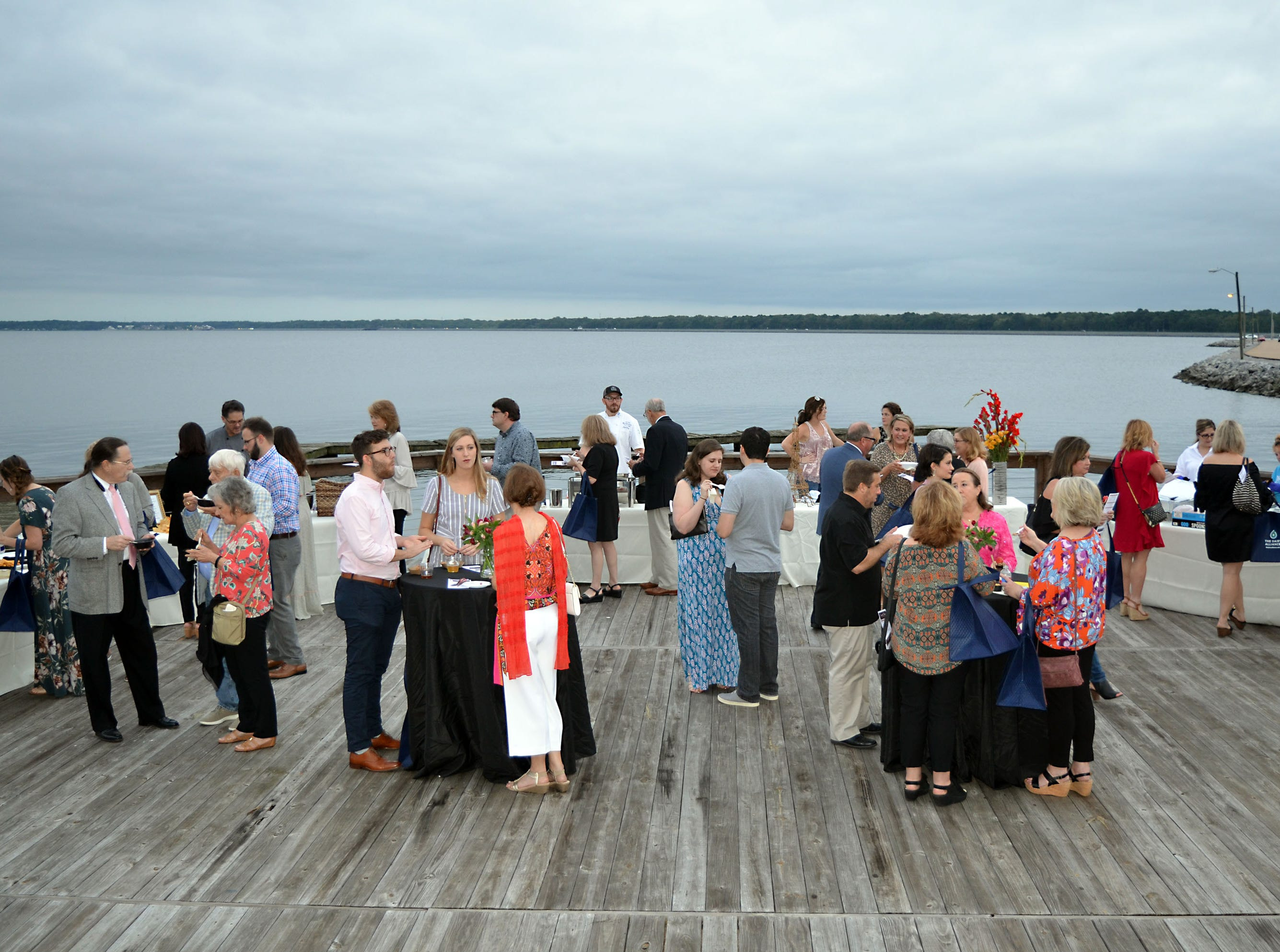 Supporters turned out for the sold out Sweetest Chefs event held Monday at The Lake House in Ridgeland. The event was held to raise funds for Extra Table to feed the hungry in our local area.