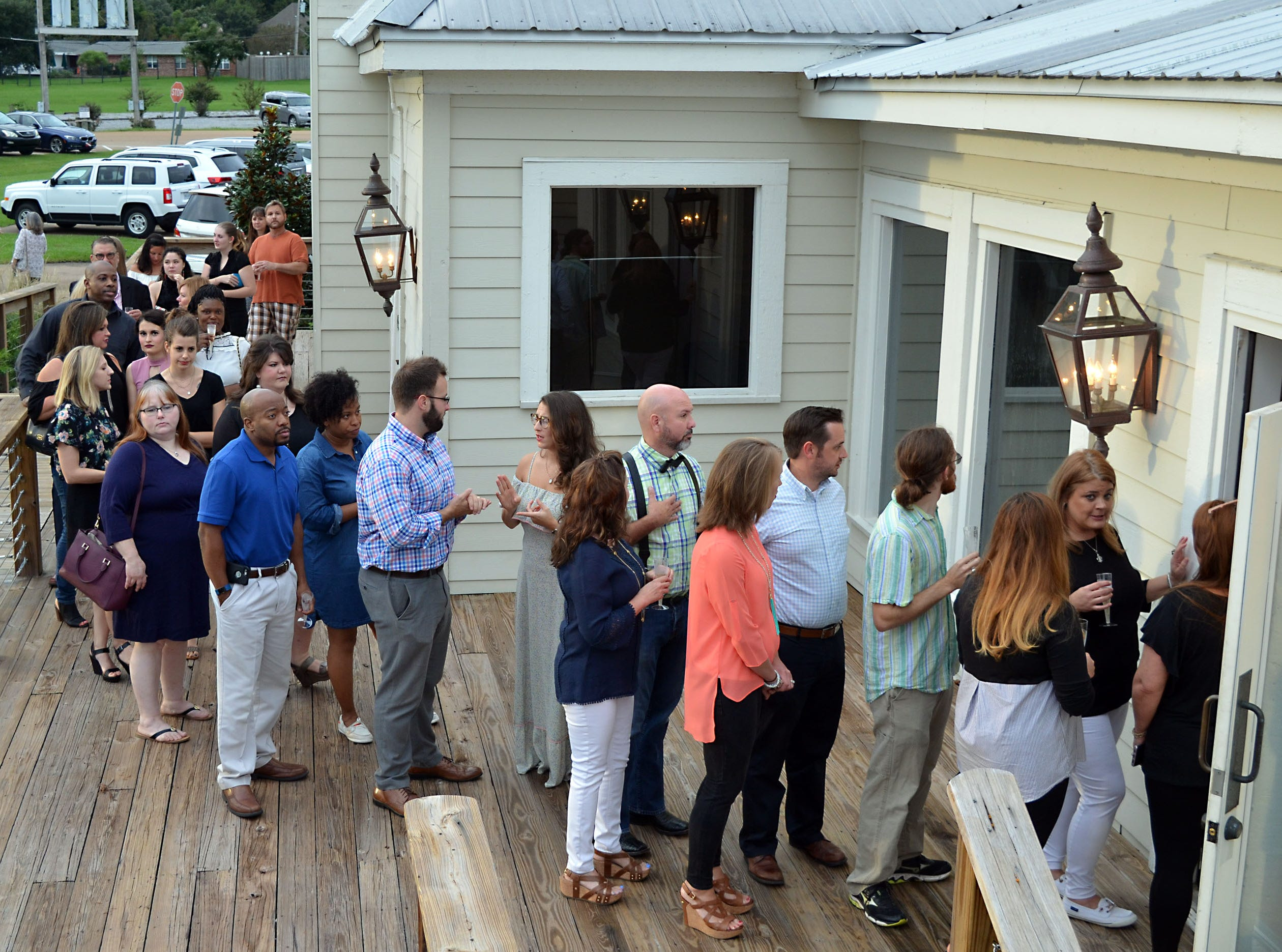 Dozens of supporters turned out for the Sweetest Chefs event held Monday at The Lake House in Ridgeland. The event was held to raise funds for Extra Table to feed the hungry in our local area.