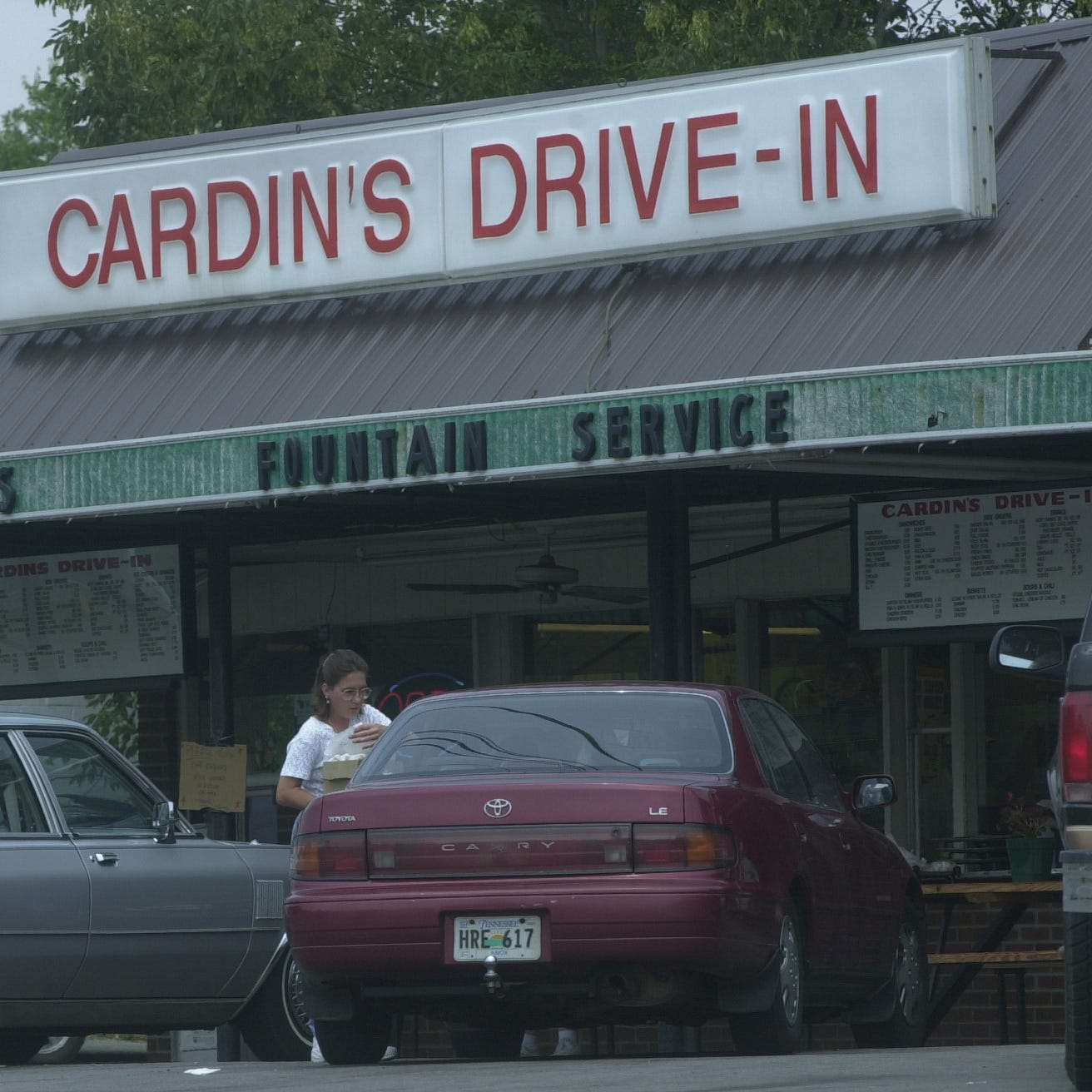 Cardin's Drive-In, a Carter Community landmark, is being sold