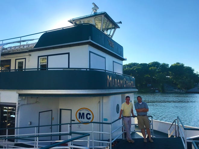 In a news release Monday, Lafayette resident Chris Peters and Brookston resident Chris Lehe announced they would take on ownership of the floating banquet hall on Nov. 1.