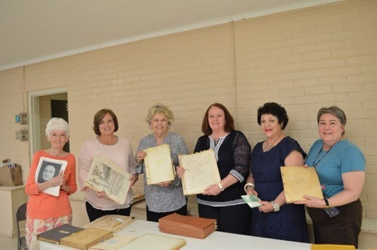 Members of the Opelousas Woman's Club gather and reflect on the group's history