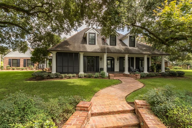 This 4 bedroom, 3 and 2 1/2 bath home is located at 405 Marjorie Boulevard in Lafayette. It is listed at $1,999,999.