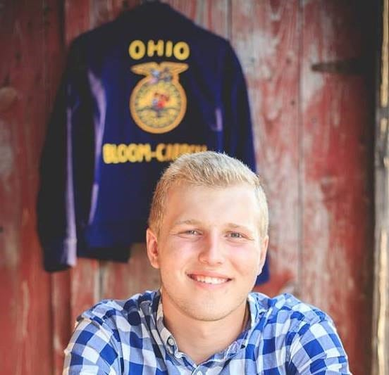 Evan Smith of the Bloom Carroll FFA Chapter.