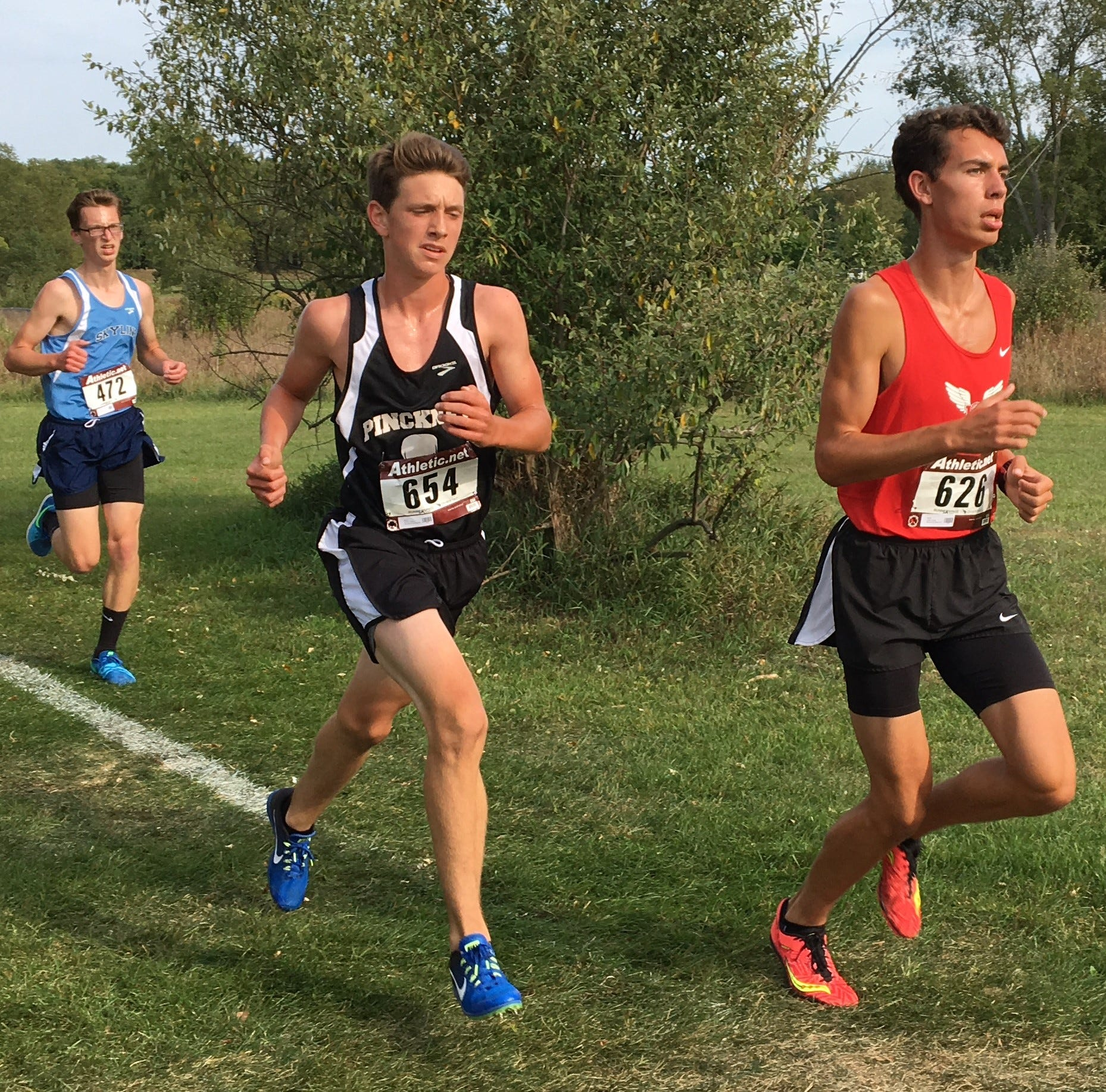 Pinckney running star Gavin White gives up soccer to focus on cross country