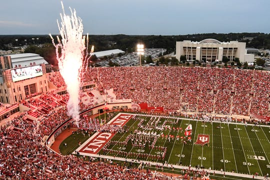 Indiana's Memorial Stadium, which opened in 1960, has undergone a host of renovations in recent years and currently seats 52,656.