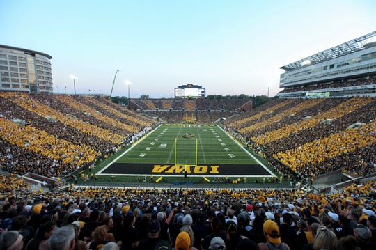 From the character of its brick facade, to its hospitality and traditions, Kinnick Stadium is the Big Ten's best.