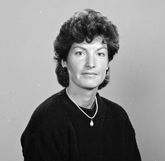 Martha Ludwig was the MSU field hockey coach in 1992.